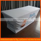 polyester advertising spandex table covers