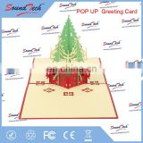 Customized pop up gift card printing