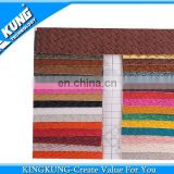 New design fashion woven pattern PVC material