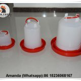 Tanzania Wholesale Poultry Farming Plastic Chicken Drinker & Chicken Waterer & Day Old Chicks Drinker & Baby Chick Drinker for Chicken Floor Raising System