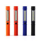 Mini pen Work Portable Light Flashlight Torch Lantern 12+1LED With Built-in Magnet Night maintenance lighting