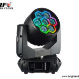 Super Bright 7×40W RGBW Beam Wash Moving Head