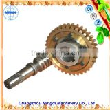 metal gears small Pinion Brass Worm Gears transmission Alloy Wheel Screw Shaft For 3d Printer                                                                         Quality Choice