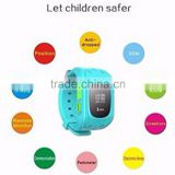 2016 Promotion Dual positioning smart watch with SOS calling fuction smart watch q50 for children kids watch