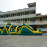 new high quality factory supply inflatable jumping bouncer castle with slide for kids playing