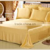 High quality pure 19MM silk dyed fabrics bedding sets