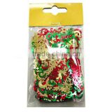 2 oz packing with poly bags colorful PET Letters Table Sequins for kids enjoying party/holiday