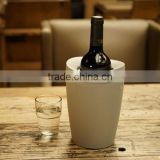 New designed instant plastic wine chiller tabletop Wine Bottle cooler wine enthusiast Ice Bucket astro x wine cooler