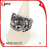 beautiful finger ring 316l stainless steel gothic fashion rings                                                                                                         Supplier's Choice
