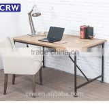 RE-1636 Cheap Office Table Furniture Metal Frame Wooden Office Table Design                                                                         Quality Choice