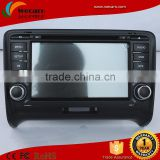 Android Car Radio For Audi A6 Car Dvd Player With Gps Dual-Core 1.6GHz CPU Support DVR Audio Video Player Steering Wheel