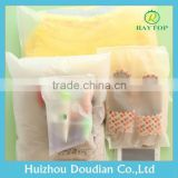Heat Seal Non-Toxic Clear Plastic Zippered Storage Bag Trade Assurance Supplier