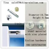 Furniture connecting fittings eccentric cam screw drilling nut/ furniture connecting fittings
