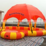 inflatable pool covers / inflatable pool with tent / inflatable pool dome