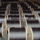 1x7 1x19 7x7 7x19 S.S. 304 316 316L stainless steel wire ropes