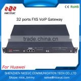 NICEUC NC-MG320 16-Ports FXS SIP Voip 16-Ports FXO Gateway for IP Call Center                                                                         Quality Choice