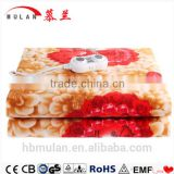 A warm blanket electric mattress Velvet jewel thickening safety intelligent temperature control electric blanket
