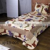 China textiles manufacturer queen size quilt size quilt baby bedding set