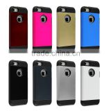 2014 newest 3d phone case for iphone 4/5/5s/5c, Slylish TPU+PC shockproof slim armor phone case for iphone 5 5s