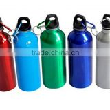Outdoor Sports Cycling Camping Water Bottle kettle , Cycling Bike Sports 750ml Stainless Steel Water Bottle W/ Carabiner Clip