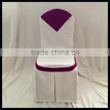 banquet polyester jacquard chair cover for hotel decorative/china wholesale polyester chair cover