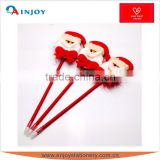 Santa Claus plush pen cute cartoon pen ball-point pen creative stationery Christmas gifts