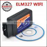 Professional OBDII car diagnostic scanner for IOS and Androids elm327 wi fi elm327 wifi obd2 v2.1 hot sales