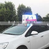 custom ordered led sign ftaxi top led advertising display/small outdoor advertising led display