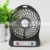 Wholesale plastic air battery power cooler handheld electric DC 5V Portable Rechargeable blower mini table fan