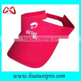 High quality sun visor cap fashion golf sun visor from shenzhen OEM hat factory