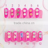 Wholesale 2015 Polymer Clay 3D Nail Art Flower