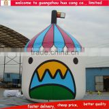 High quality inflatable advertsing balloon, inflatable tent model, inflatable model tent