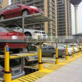 car half pit simple lifting parking system