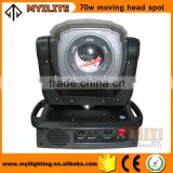 2016 new product stage lighting led moving head spot beam 70w light