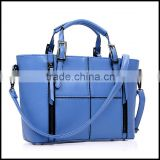 Europe and the new spring and summer 2014 fashion leather shoulder bag handbag wholesale stitching Laptop Messenger Bag