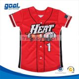 Wholesale cheap custom youth baseball wear team usa softball jerseys