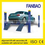 4QJY3.5-B Four post wheel alignment car lift