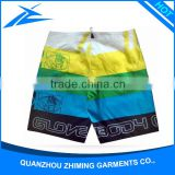 Cheap Wholesale Custom Printing Stripes Pattern Boys Waterproof Pockets Swim Trunks Shorts
