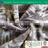 Changshu selling 100% polyester printed men's warm pajamas fabric / blanket fabric / sofa fabric