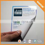 Modern lable sticker china magnetic custom sticker