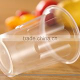 disposable plastic juice cup with lid 16oz PP Material Disposable Plastic juice cup with lid