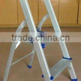 Outdoor Foldable Aluminium ladder / handy ladder garden furniture
