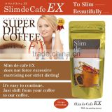 easy to drink and High quality beautiful diet coffee at reasonable prices for slim body