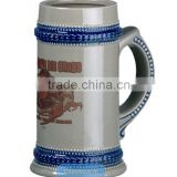 customize german ceramic beer steins