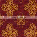 Fashional red carpet with flower pattern