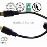 short leas time wired controller usb breakaway cable for xbox 360 factory