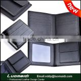 New arrival men genuine leather wallet with coin pocket,China leather manufacturer,leather wallets wholesale
