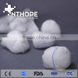 medical non sterile gauze ball 100pcs per bag