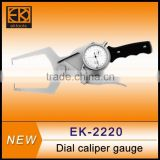 EK-2220 inside & outside dial caliper gauges