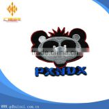 Top design animal theme customized blank patches for embroidery no minimum order